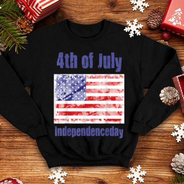 4th Of July American Flag Independence Day Patriotic shirt