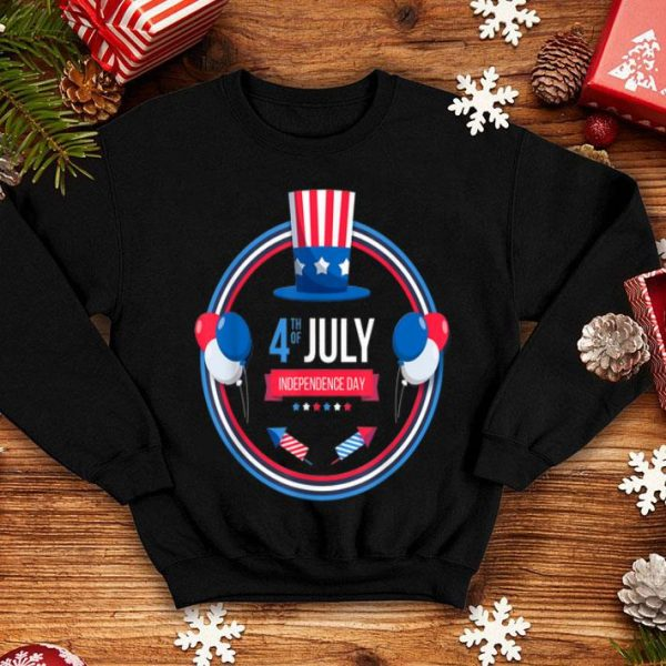 4th of july independence day usa flag hat shirt