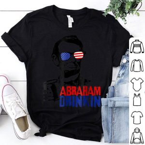 Abraham Drinkin Patriotic 4th Of July Shirt