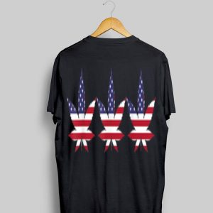 American Flag Marijuana Patriotic shirt