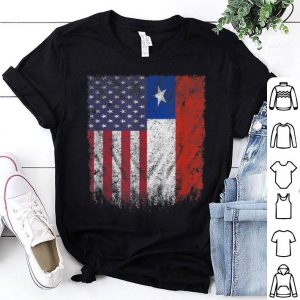 American Grown Chilean Roots Chilean American Flag shirt