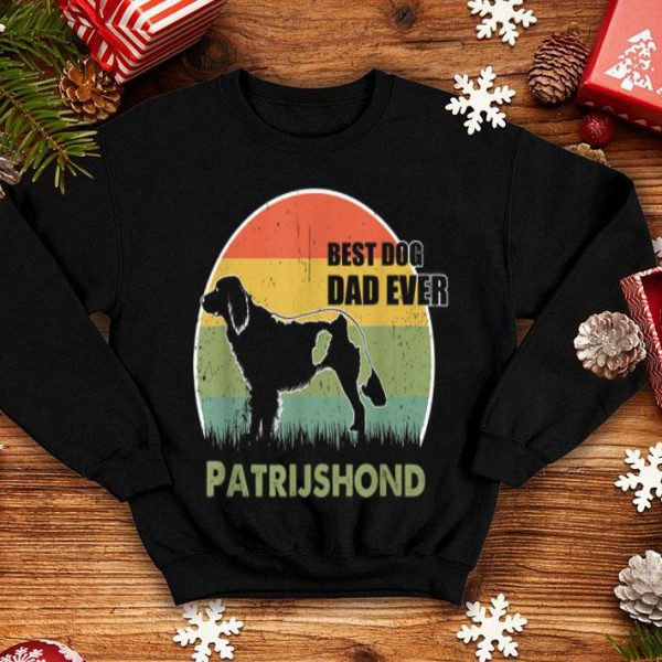 Best Dog Dad Ever Patrijshond Father Day 2019 shirt