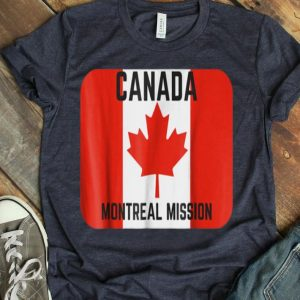 Canada Montreal Lds Mormon Mission Shirt