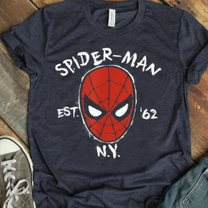 Marvel Spider-man Est 1962 New York Graphic Shirt