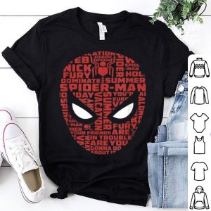 Marvel Spider-man Far From Home Build-up Fill Shirt