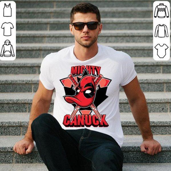 Mighty Canuck Canada Deadpool Duck Shirt