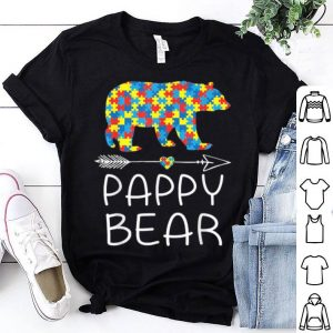 Pappy Bear Autism Awareness Father Day shirt