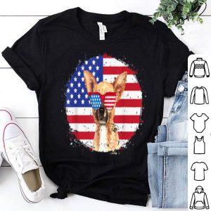 Patriotic chihuahua 4th of July Sunglasses USA Grunge Flag shirt