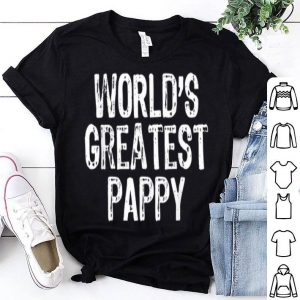 World's Greatest Pappy Father's Day shirt