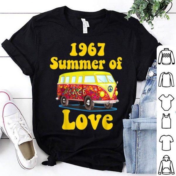 1967 Summer Of Love Retro Tees Vintage Sixties Hippie shirt