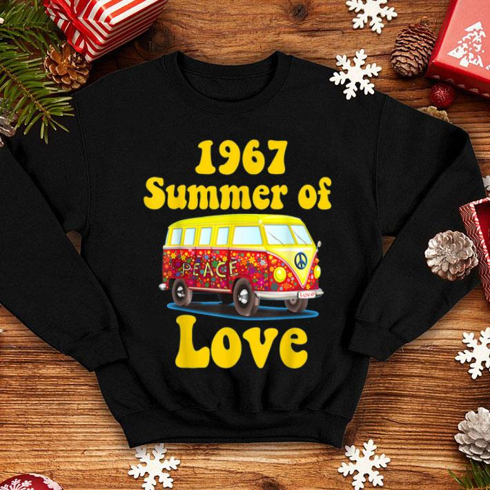 70a00e1b3aa 1967 Summer Of Love Retro Tees Vintage Sixties Hippie shirt, hoodie,  sweater, longsleeve t-shirt