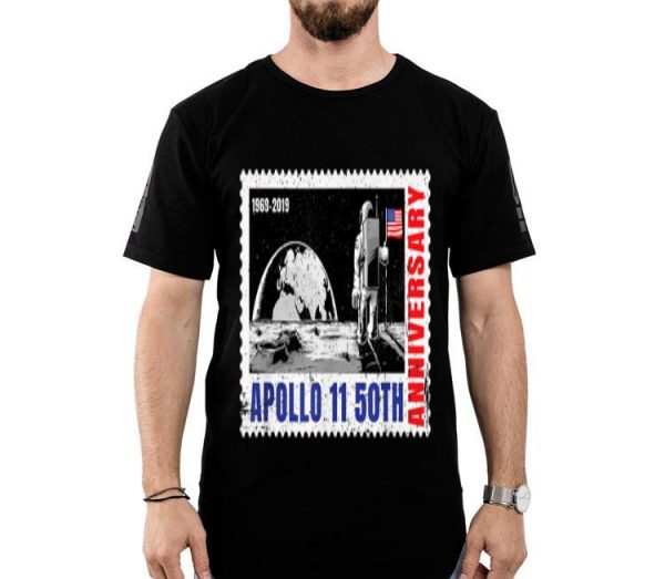 1969-2019 Moon Landing Apollo 11 50th Anniversary shirt
