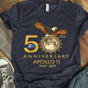 50th Anniversary Apollo 11 1969 Moon Landing First Step On The Moon shirt