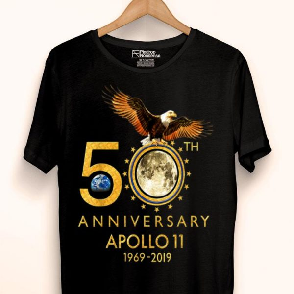 50th Anniversary Apollo 11 moon landing 1969-2019 First Step On The Moon shirt