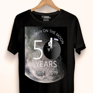 50th Anniversary First Man On The Moon Moon Landing shirt