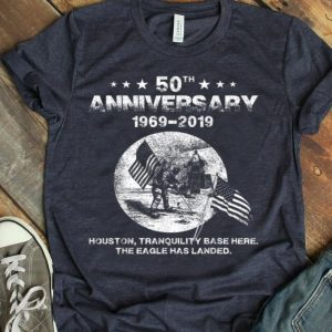 50th Anniversary Houston Tranquility Base-Proud Space shirt