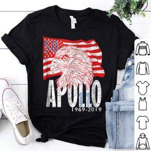 Apollo 11 50th Anniversary I Distressed Eagle Flag shirt