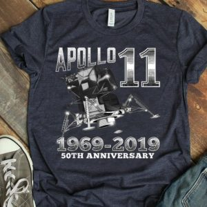 Apollo 11 50th Anniversary Man On The Moon Landing July 1969 shirt