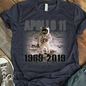 Apollo 11 50th Anniversary Moon First Step On The Moon shirt