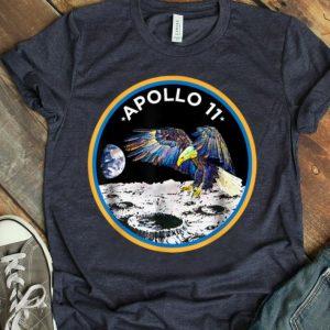 Apollo 11 NASA Moon Landing Astronaut Eagle Logo First Step On The Moon shirt