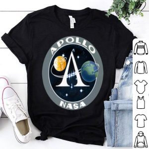 Apollo Program Moon Landing Patch Print NASA shirt