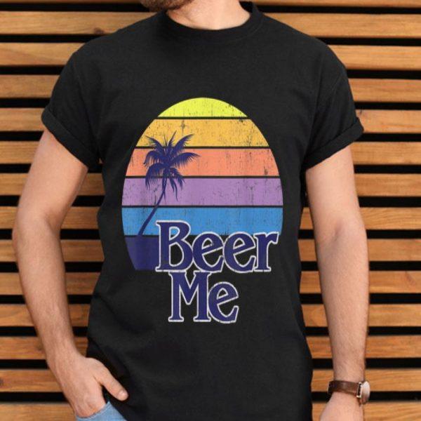 Beer Vintage Retro California Beach Fashion shirt