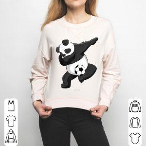 Dabbing Panda Soccer Love Panda Dab Funny Panda Lovers shirt