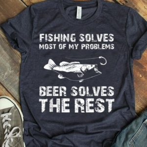Fishing And Beer Fisherman Father's Day shirt