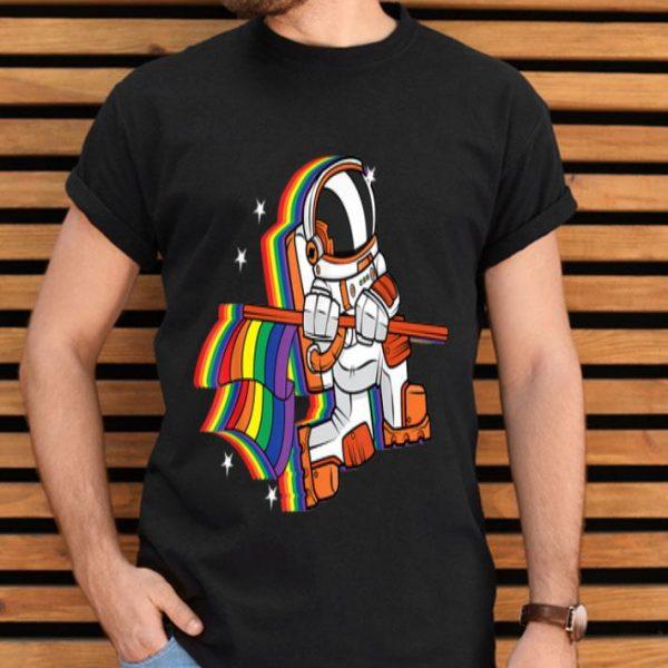 Gay Pride Astronaut - Moon Landing Anniversary shirt