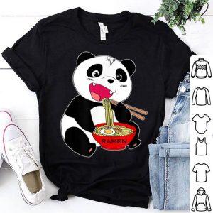 Great Kawaii Japanese Panda Ramen Noodle Anime shirt