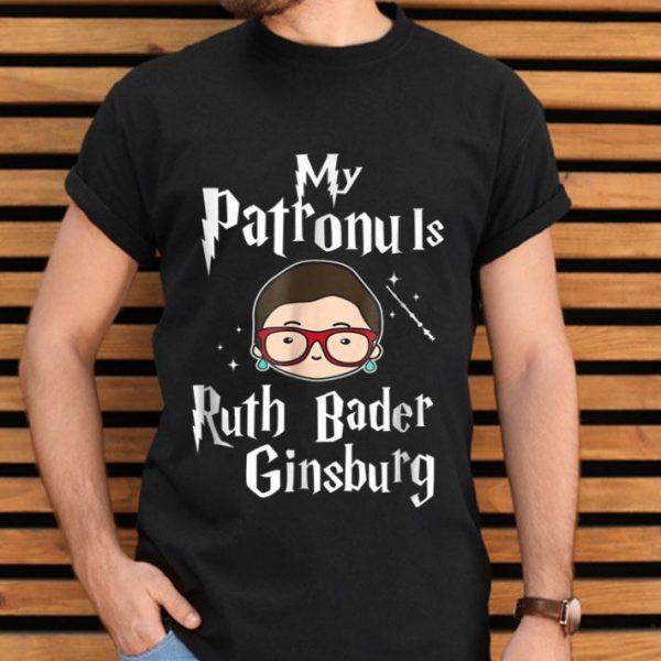 My Patronus Is Ruth Bader Ginsburg Notorius RBG shirt