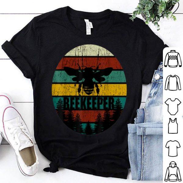 Retro Vintage Beekeeper Beekeeping Bee shirt