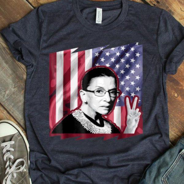 Ruth Bader Ginsburg Patriotic American Flag shirt