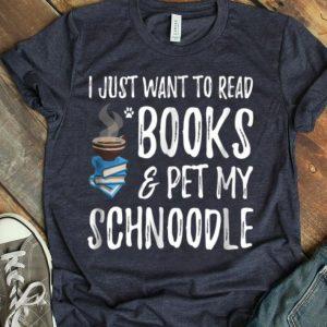 Schnoodle Avid Book Reader Funny Dog Mom Gift shirt