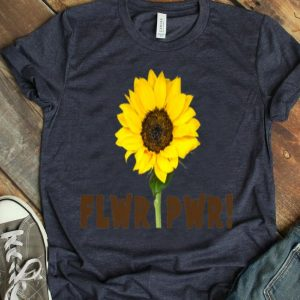 Womens Flwr Pwr Power Of The Flower Sunflower shirt