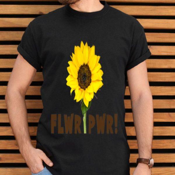 Womens Flwr Pwr Power Of The Flower Sunflower shirt