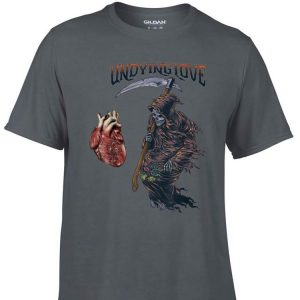 Aweome Undying Love Grim Reaper Heart shirt