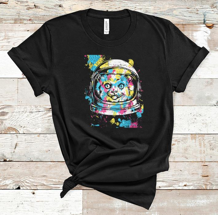 Awesome Astronaut Colorful Cat Costume Cool Easy Halloween Gift shirt 1 - Awesome Astronaut Colorful Cat Costume Cool Easy Halloween Gift shirt