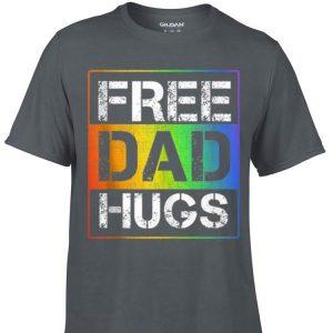 Awesome Free Dad Hugs LGBT Gay Pride shirt