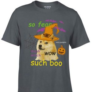 Awesome So Fear Much With Such Boo Halloween shirt