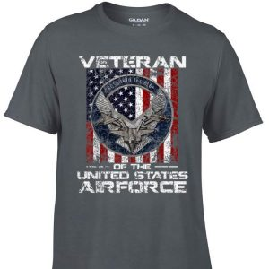 Awesome Veteran Of The United States Airforce American Flag shirt
