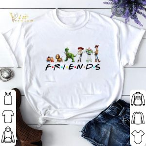 Friends Toy Story 4 characters shirt sweater