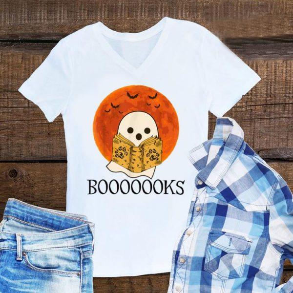 Ghost Read Booooooks Sunset Halloween shirt