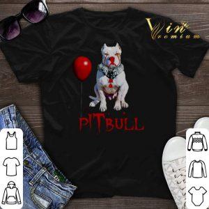 Halloween Pennywise pITbull Clown shirt