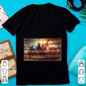 Hot Betsy Ross Battle Flag 13 Colonies shirt