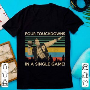 Hot Four Touchdowns In A Single Game Al Bundy Vintage shirt