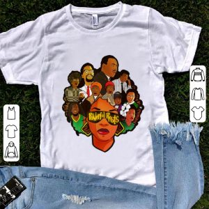 Hot Powerful Roots Black History Month I Love My Roots shirt