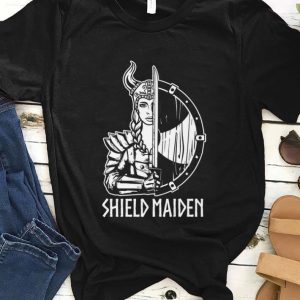 Hot Shield Maiden Viking Girl shirt