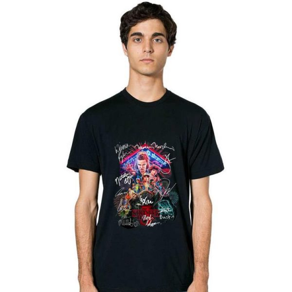 Hot Stranger Things Signature Style Pop shirt