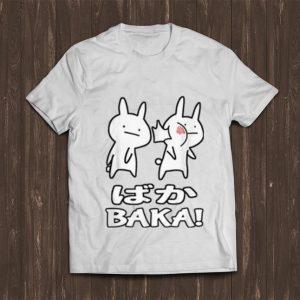 Nice Cute Anime Baka Rabbit Slap shirt